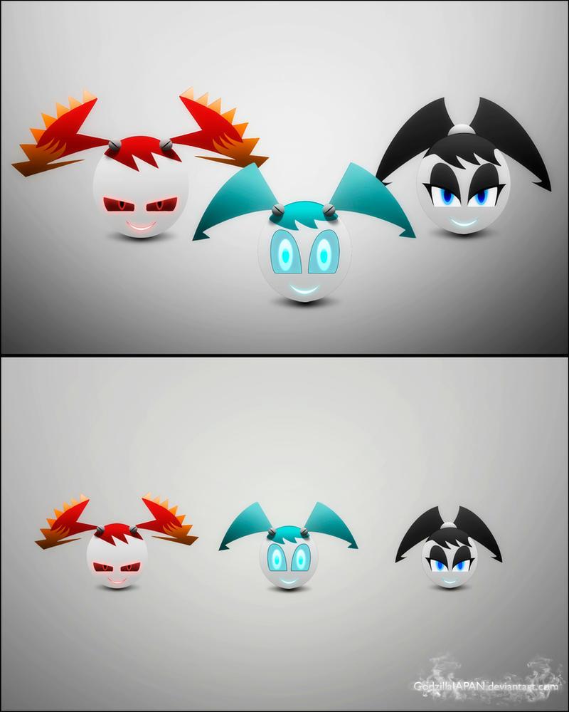 Wallpaper :Icons CJ, XJ-9 and J: by GodzillaJAPAN on ...