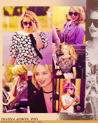 dianna agron. psd by TheSofterSideAv
