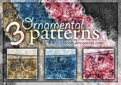 Ornamental patterns by ylorish