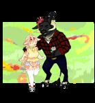 (animated) bovine couple adopt!