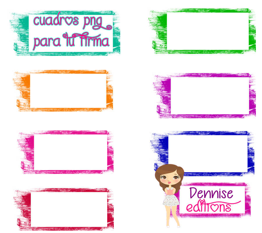 Cuadros png para tu firma by denniseeditions on deviantart - Fotos de cuadros ...