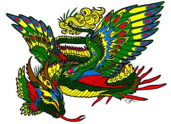 Sovereign Quetzalcoatl by Erix19
