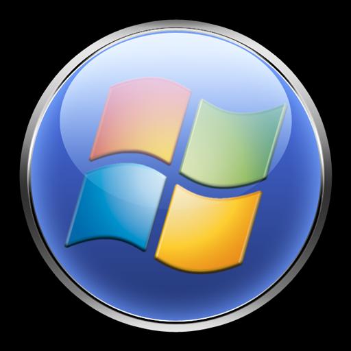 windows vista logo. Windows Vista Orb Button Logo