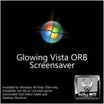 Glowing Vista ORB Screensaver