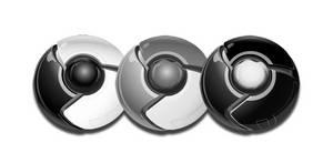 Google Chrome BW Dock Icon