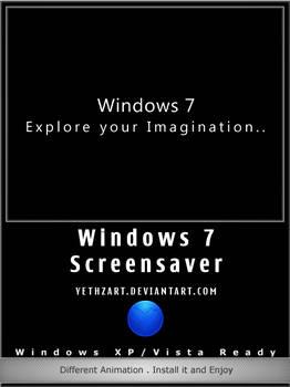 Win7 Flash Screensaver
