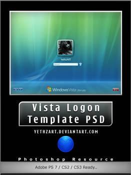 Vista Logon Preview Template