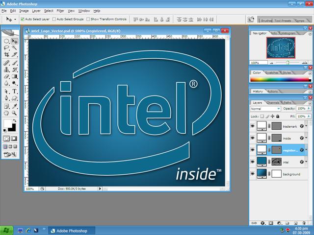 Intel logo font images intel logo font intel logo vector psd by voltagebd Gallery