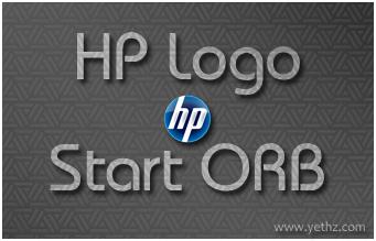 HP Logo Start ORB by yethzart