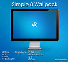 Simple 8 Wallpack by yethzart