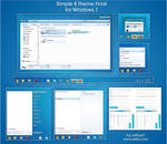 Simple 8 Theme Final for Windows 7