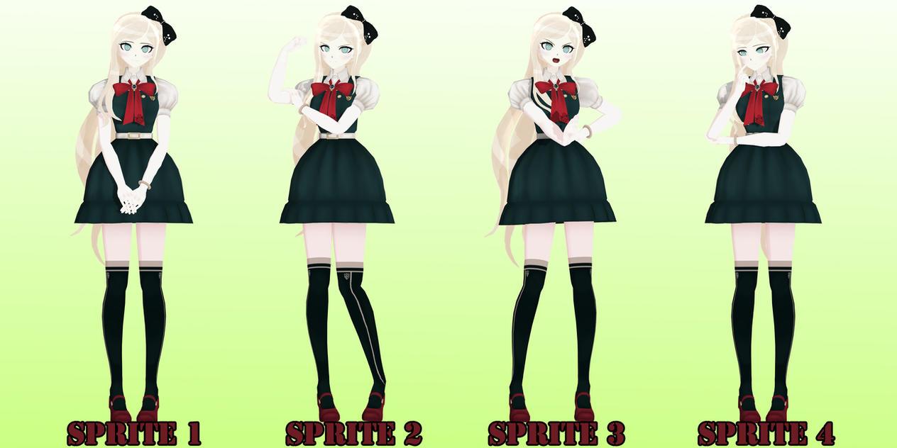 Sonia Nevermind Poses by JapaneseAnimeFreak on DeviantArt