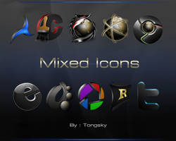 Mixed Icons by Tongsky