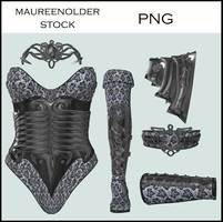 STOCK PNG costume 3 by MaureenOlder