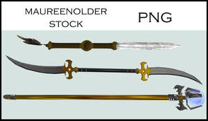STOCK PNG weapons of choice