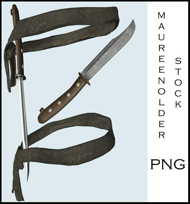 STOCK PNG what, another knife by MaureenOlder