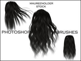 STOCK PHOTOSHOP BRUSHES hair 3