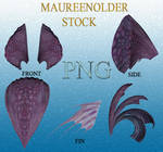STOCK PNG purpleheadpeices