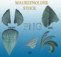STOCK PNG greenheadpeices by MaureenOlder