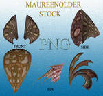 STOCK PNG brownheadpeices