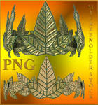 STOCK PNG leaf crown