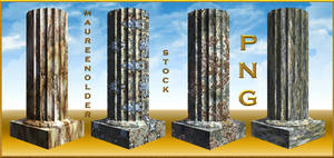 STOCK PNG fantasy columns