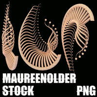 STOCK PNG alien bits by MaureenOlder