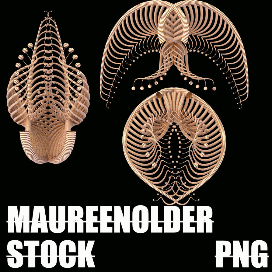 STOCK PNG alien bits2 by MaureenOlder