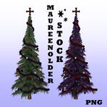 STOCK PNG gothic trees