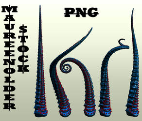 STOCK PNG tentacles