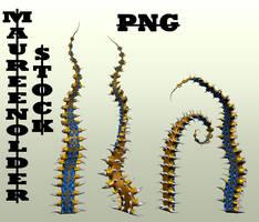 STOCK PNG tentacles2 by MaureenOlder