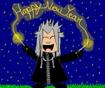 Xemnas's New Year Experience(KH New years contest) by MysticFantasy1996