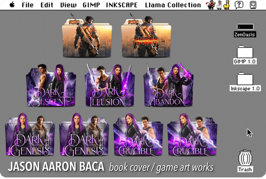 Jason Aaron Baca folder icon pack
