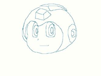 Mega Man for dA