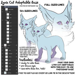 Lynx Lines by Sharky [FREE TO USE]
