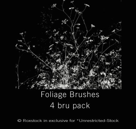 Foliage 4 pack brushes -revi-