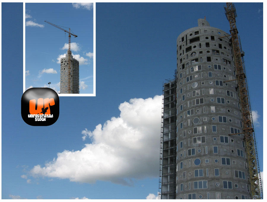 Snail Tower - Estonia by Unrestricted-Stock