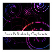 Swirls PS Brushes by graphicavita