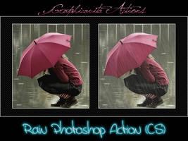 Rain Photoshop Action by graphicavita