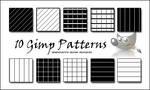 10 GIMP PATTERN