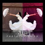 Purple Effect .PSD