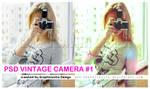 PSD Vintage Camera 1