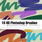 Brushstroke PS Brushes Pack
