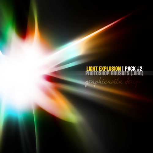 Light Explosion Pack #2 [Ps Brushes]