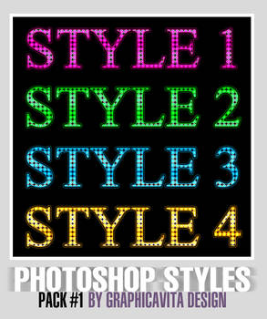 Photoshop Styles Pack #1