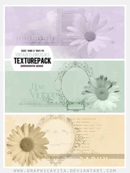 Vintage Flowers #3 [Texture Pack]