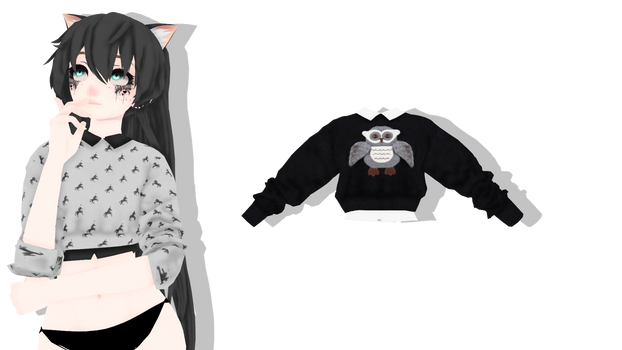 MMD - Sims 4 Cute Trendy Sweaters