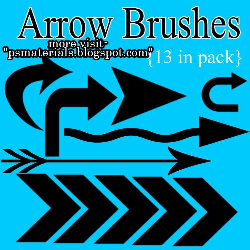 NEW ARROW BRUSHES by vishalrokez