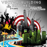 Vector Building brushes