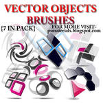 VECTOR OBJECTS BRUSHES